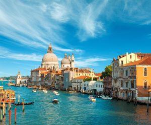 FTG Grand Canal and Basilica Santa Maria della Salute , Venice, Italy