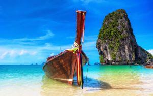 FTG Tropical island landscape background Thailand beach